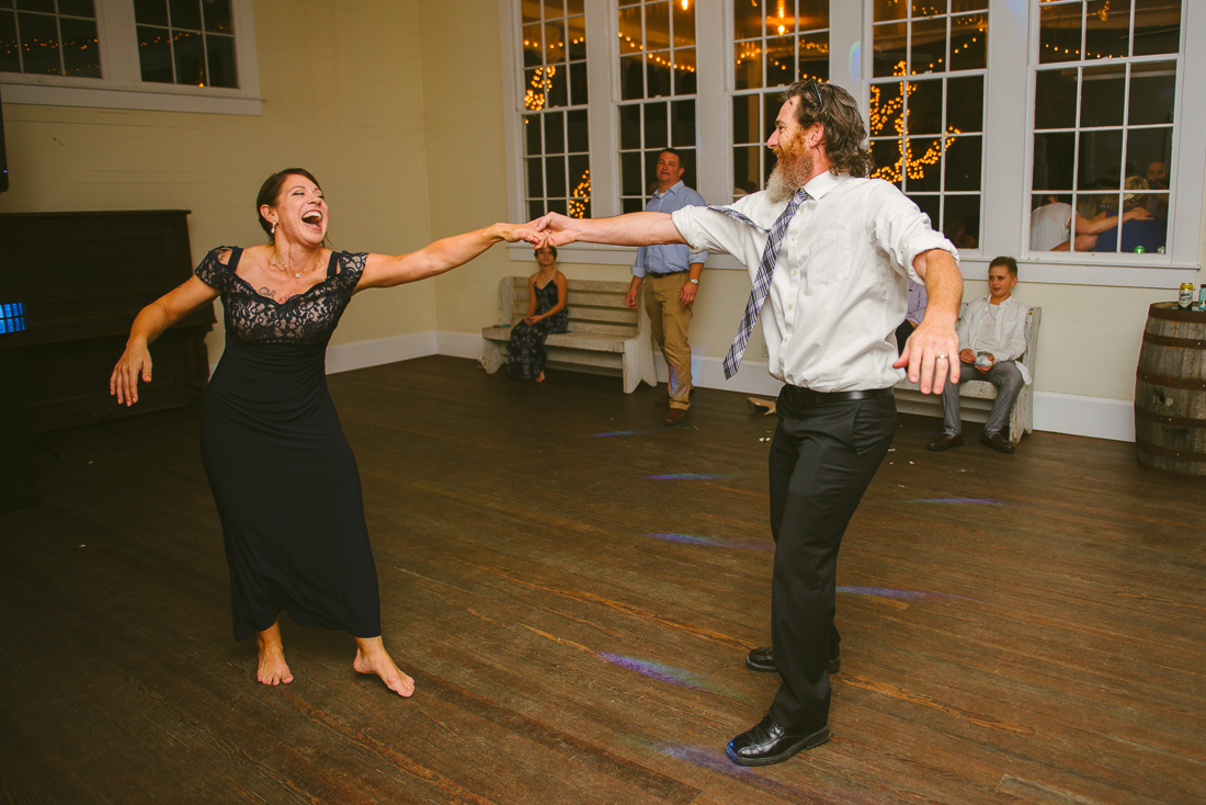 hill country wedding dancing