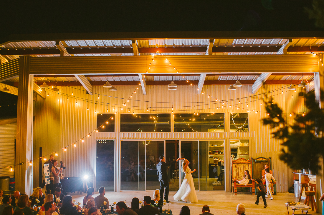 first dance at liney moon stellar house
