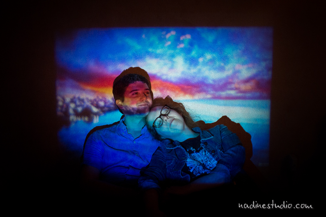 projector lighting engagement