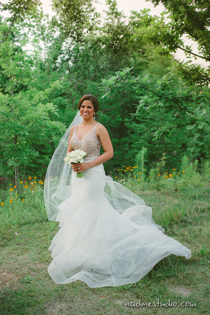 bridal portrait at the dunlevy houston