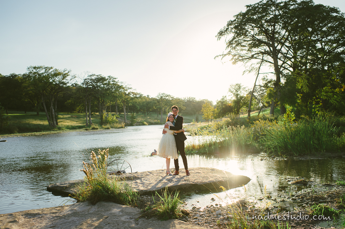 wimberly wedding photography by the lake